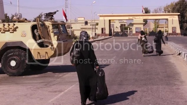 Rafah crossing point