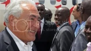 DSK arrives in South Sudan to 'open bank' for Swiss interests