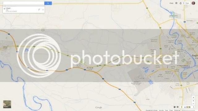 Fallujah, 40 miles from Baghdad