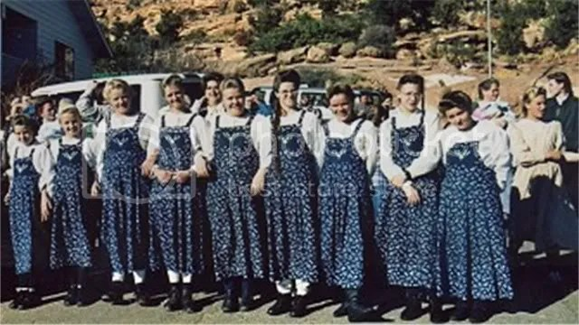 Some of the 78 wives of Warren Jeffs