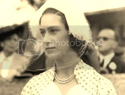 """Margot"" HRH Princess Margaret Rose,  Companion of the Imperial Order of the Crown of India, Dame Grand Cross of the Royal Victorian Order, Dame Grand Cross of the Most Venerable Order of St. John of Jerusalem."