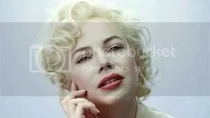 Marilyn Monroe from Michelle Williams