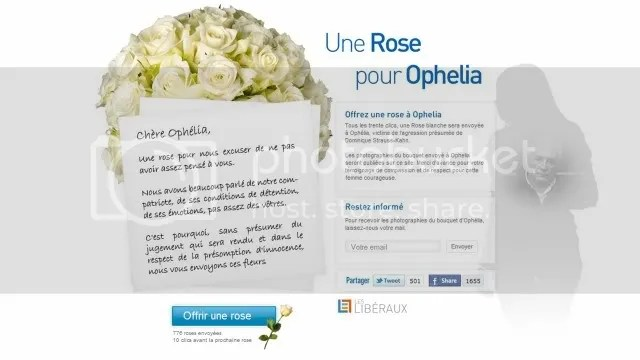 A Rose for Ophelia
