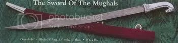 The Sword of the Mughals