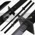 Musashi Koga Ninja Sword Black