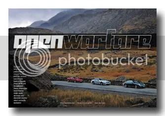New Feature - Open Warfare - Aston V8 Roadster vs Porsche 911 Targa 4S vs Mercedes SL63 AMG