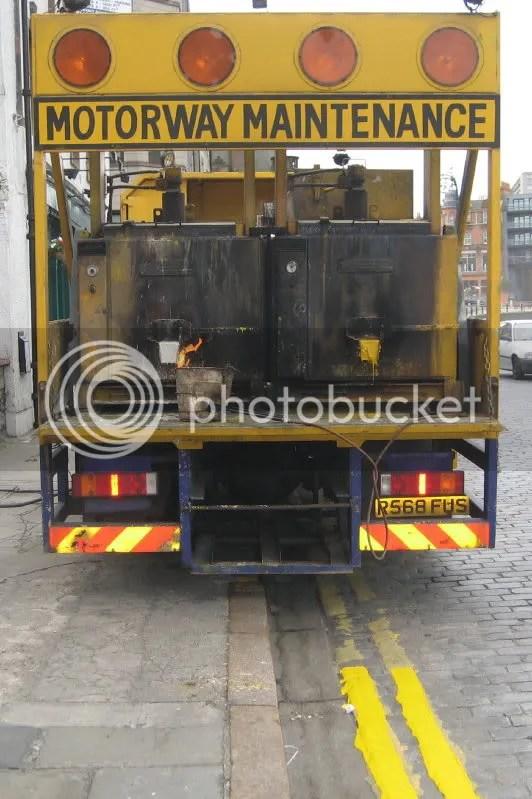 Motorway Maintenance vehicle