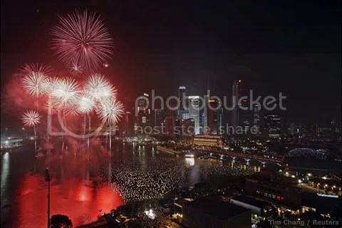 New Year Eve in Singapore