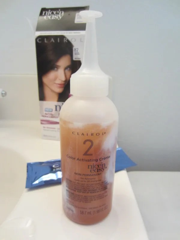 Crafty And Wanderfull Life Clairol Nice N Easy Non