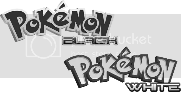 Pokemon Black & White Fanmade Logos Pictures, Images and Photos