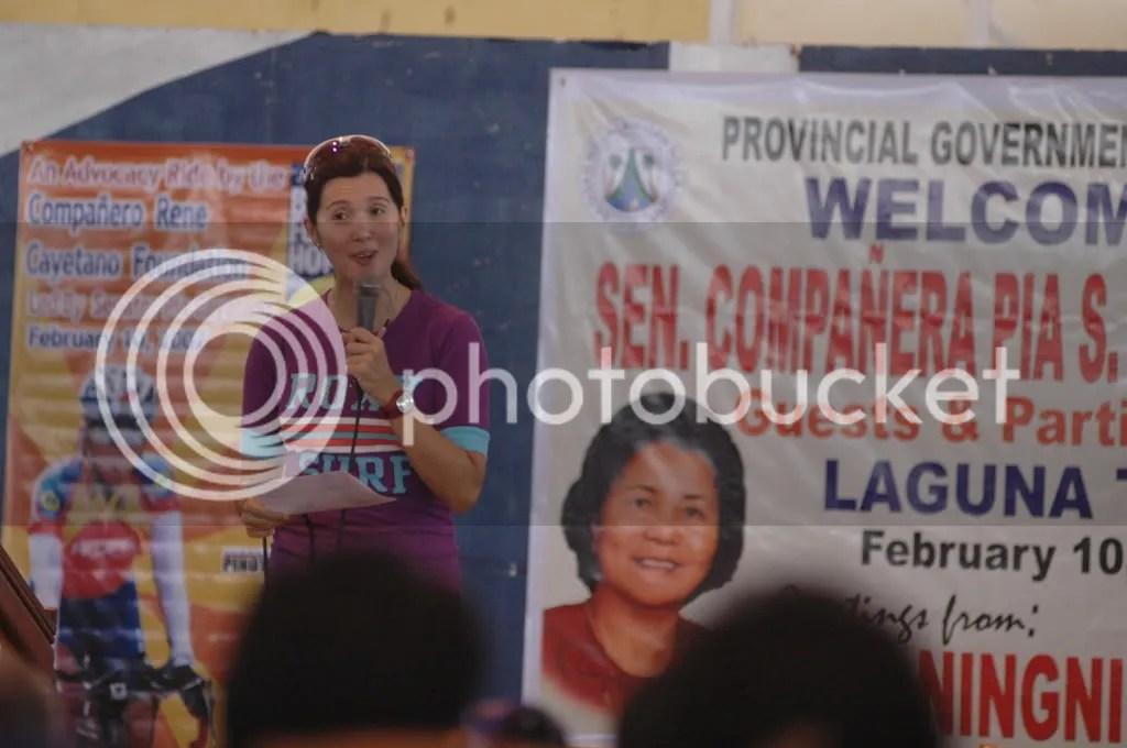 Bike For Hope Pia Speaks