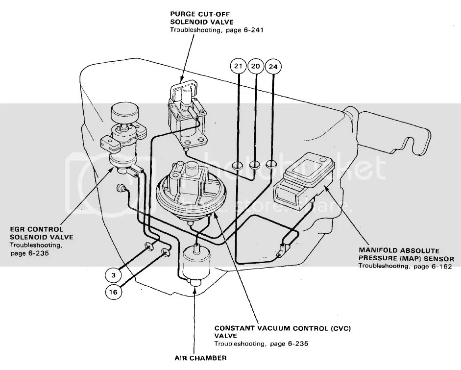 B18b Vacuum Diagram Completed Wiring Diagrams B20z Engine B18b
