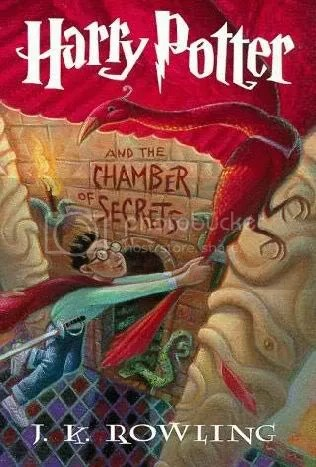 harry potter,book cover,chamber of secrets