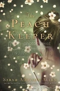 The Peach Keeper,Sarah Addison Allen,book,book cover