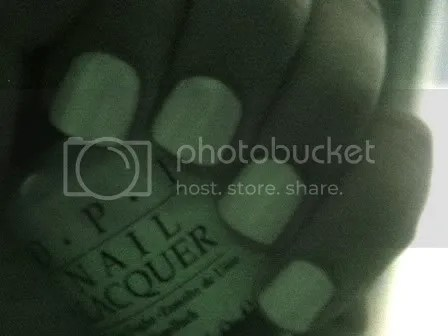 OPI Ghostess With the Mostess - tma