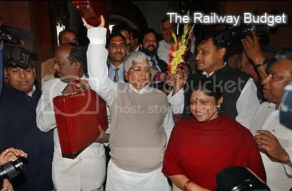 Laloo's Railway Budget