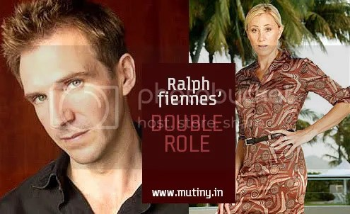 Ralph Fiennes Lisa Robertson Photo