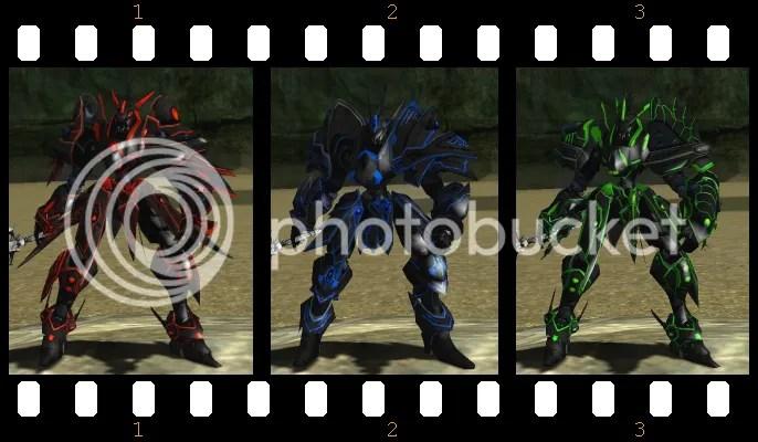 black acc armors old