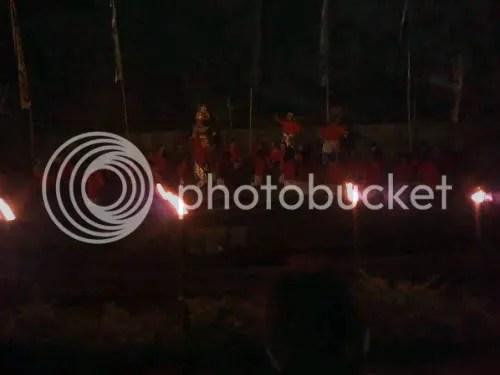 Pementasan Tari Keak oleh ISI dan SMA Batik 1 Solo
