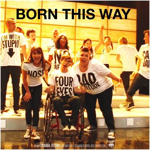 Alternative Song Albums: Glee: The Music, Born This Way Alternative Covers