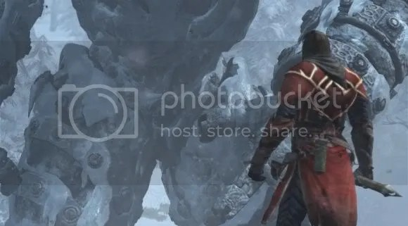 Do these ice titans just wait around in frozen lakes for grieving warriors to show up?