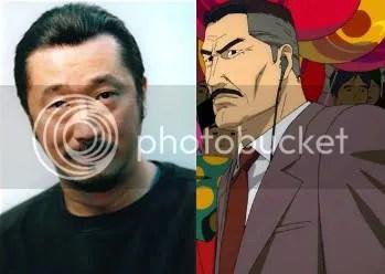 Akio as Konokawa