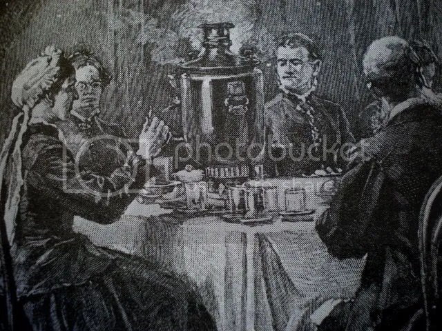 The Russian Pouring Teapot ~ Samovar (2/6)