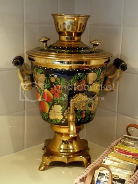 The Russian Pouring Teapot ~ Samovar (3/6)
