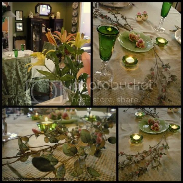 Tablescape Tuesday ~ Simple Spring (2/3)