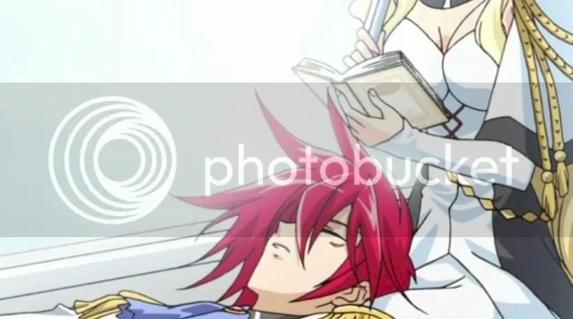 Lucky Kazuya, Sleeping On Waruteishia's Lap~!