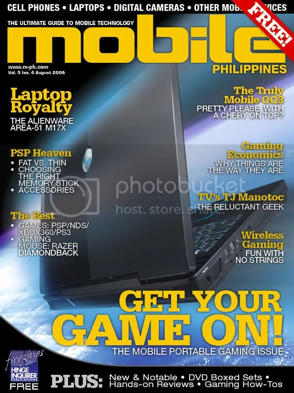 Mobile Philippines August issue