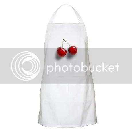 Cherry BBQ Apron on CafePress