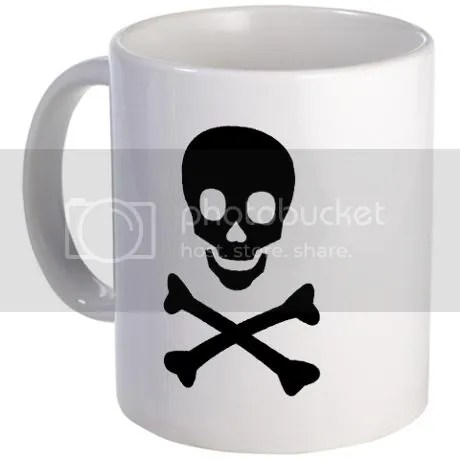 Skull n Bones Mug on CafePress