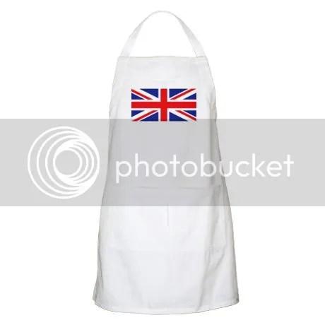 UK Union Jack Apron on CafePress