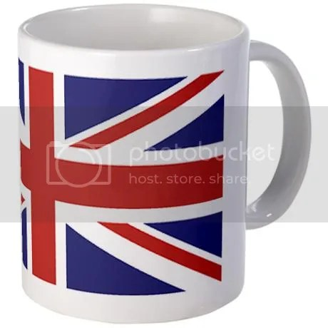 UNION JACK UK BRITISH FLAG Mug on CafePress