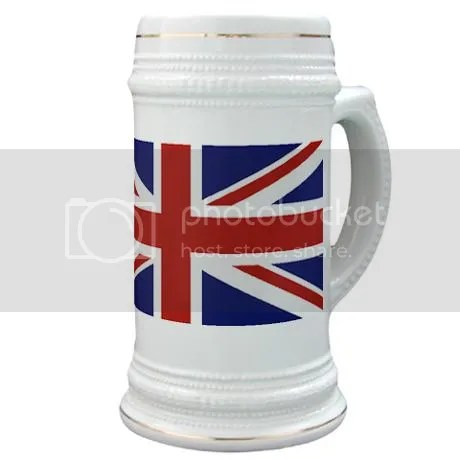 UNION JACK UK BRITISH FLAG Stein Mug on CafePress