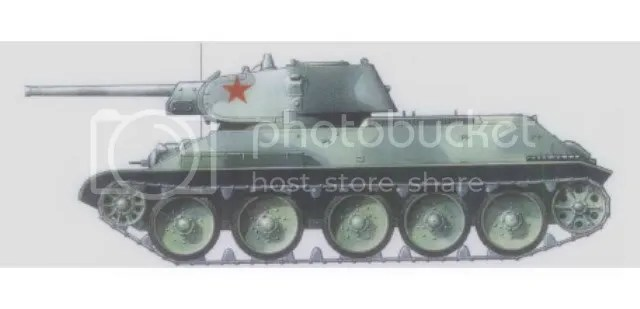 T34m41, Spring 1942