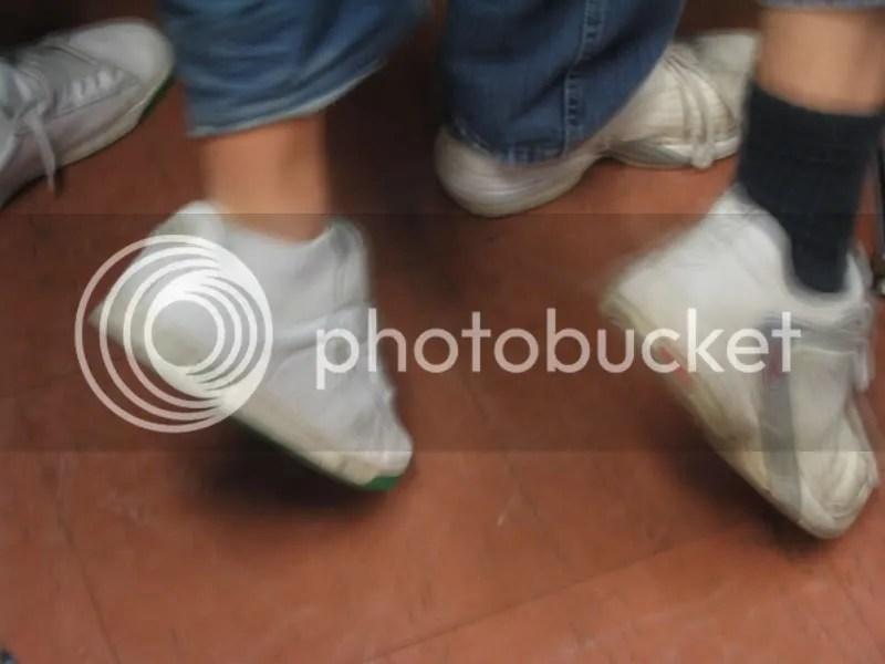 Feet at a Steiner school