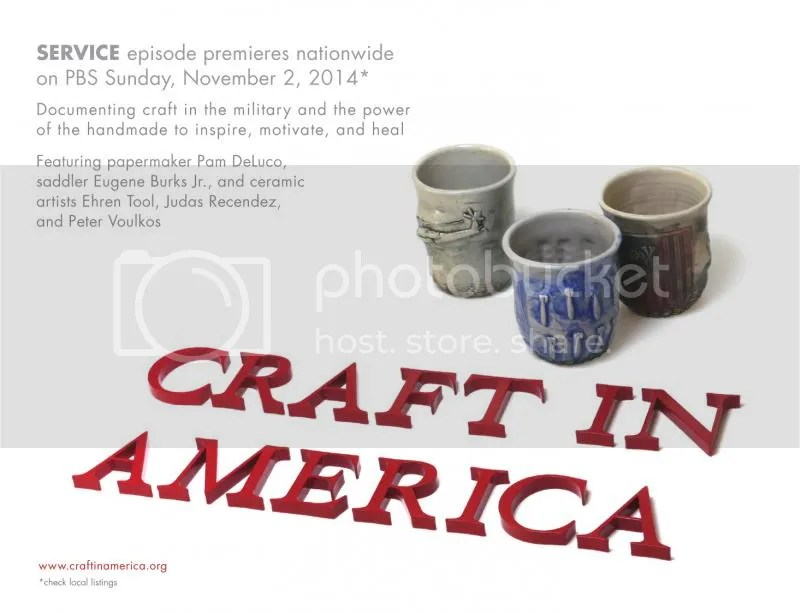 Craft In America / 492 SERVICE episode premieres on PBS November 2, 2014