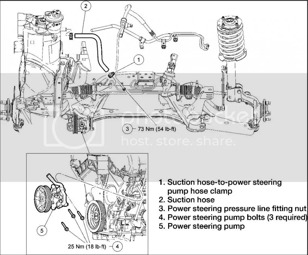 Wrg Power Steering System Engine Diagram