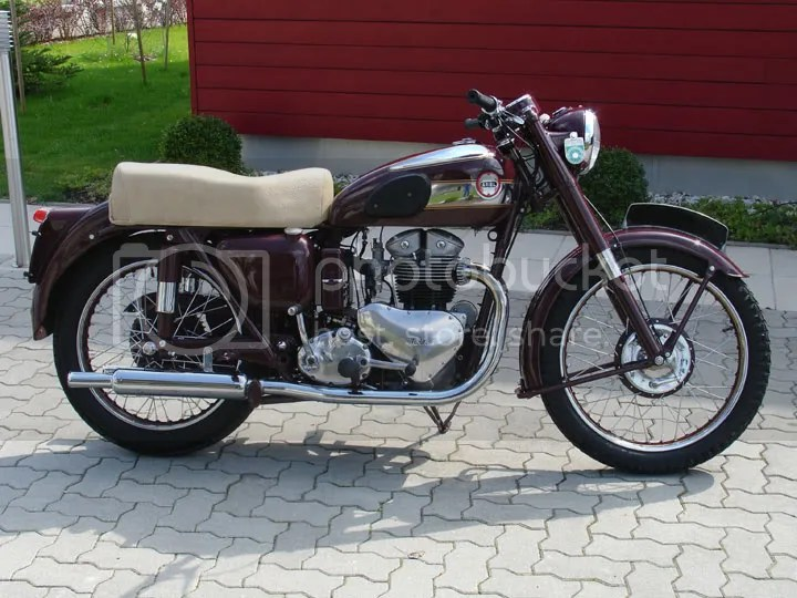 1954 Ariel KH500