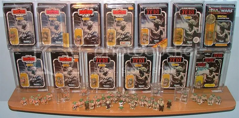 A portion of my Yoda focus collection.