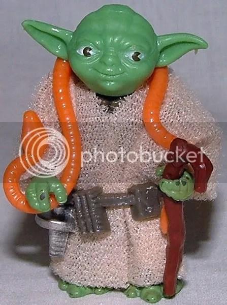 Bright Green, Orange Snake Yoda off 41D cardback.