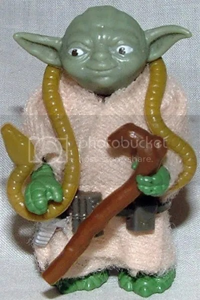European Green Snake Yoda (Also appears in 6 Pack Baggies).