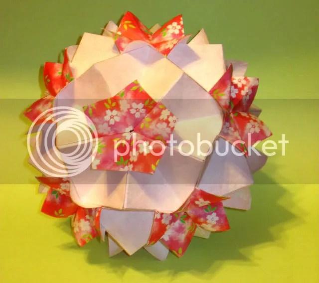 Origami Kusudama Spring