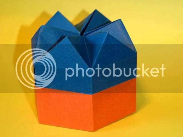 Caixa Hexagonal - Tomoko Fuse
