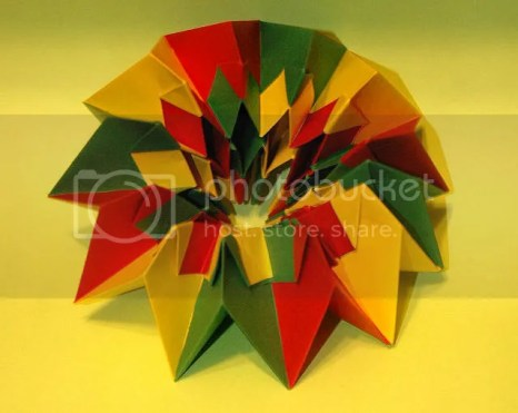 Origami Fireworks