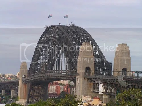 Sidney Harbor Bridge