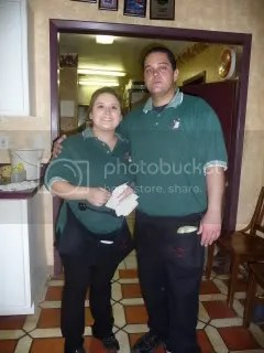 Stephen and Brianna, servers at Casa Blanca Cafe