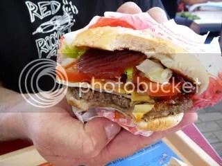 Burger Kings... errrrr.. Hungry Jacks Aussie Burger.